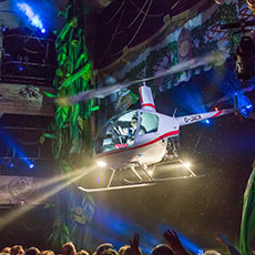 The Flying Helicopter - stage flying special effects