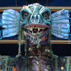 Torchwood Sea Monster - Animatronics for hire