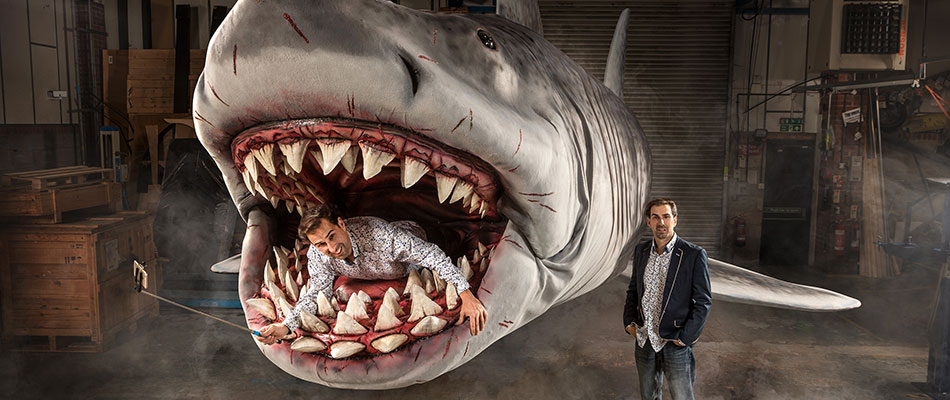 Bruce the Shark - Animatronics for hire