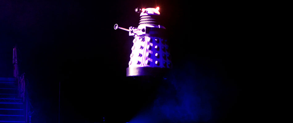 Flying Dalek - Special Effects Hire