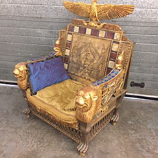 Exodus: Gods & Kings Throne - theatrical props hire
