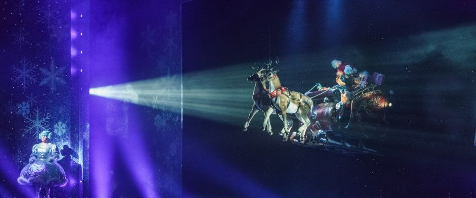 Sleigh Upgraded - Theatre Magic and Illusion Hire