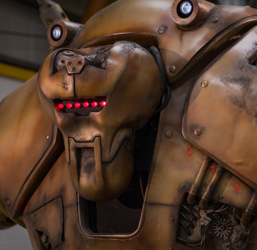 Robot One - animatronics for hire