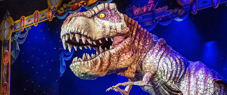 T-Rex - Special Effects Animatronics