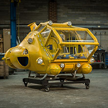 Thunderbird 4 - theatrical stage props hire