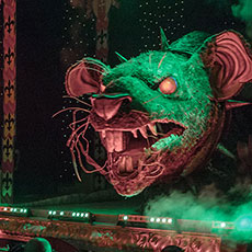 The Rat - special effects animatronics for hire