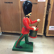 Oversized Toy Soldiers - theatrical props hire